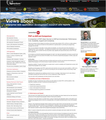 Comentum 360 � New Web Application Research Articles for Business Decision Makers
